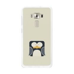 "Funda Gel Tpu para Asus Zenfone 3 5.2"" Ze520Kl Diseño Pingüino Dibujos"