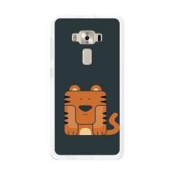 """Funda Gel Tpu para Asus Zenfone 3 5.2"""" Ze520Kl Diseño Tigre Dibujos"""