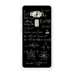 """Funda Gel Tpu para Asus Zenfone 3 Deluxe 5.7"""" Zs570Kl Diseño Formulas Dibujos"""
