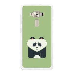"""Funda Gel Tpu para Asus Zenfone 3 Deluxe 5.7"""" Zs570Kl Diseño Panda Dibujos"""