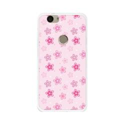 Funda Gel Tpu para Huawei Nova Diseño Flores Dibujos