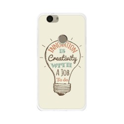 Funda Gel Tpu para Huawei Nova Diseño Creativity Dibujos