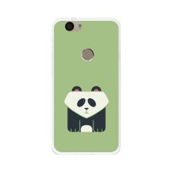 Funda Gel Tpu para Huawei Nova Diseño Panda Dibujos