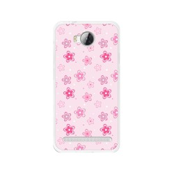 Funda Gel Tpu para Huawei Y3 II Diseño Flores Dibujos