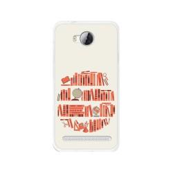 Funda Gel Tpu para Huawei Y3 II Diseño Mundo-Libro Dibujos