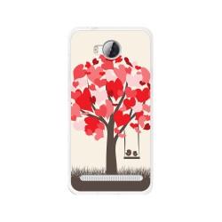 Funda Gel Tpu para Huawei Y3 II Diseño Pajaritos Dibujos