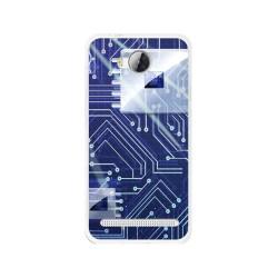 Funda Gel Tpu para Huawei Y3 II Diseño Circuito Dibujos
