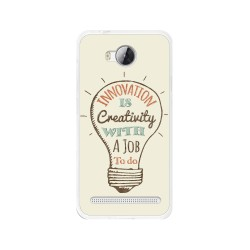 Funda Gel Tpu para Huawei Y3 II Diseño Creativity Dibujos