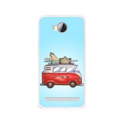 Funda Gel Tpu para Huawei Y3 II Diseño Furgoneta Dibujos