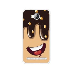 Funda Gel Tpu para Huawei Y3 II Diseño Helado Chocolate Dibujos