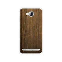 Funda Gel Tpu para Huawei Y3 II Diseño Madera Dibujos