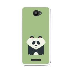 Funda Gel Tpu para Bq Aquaris U / U Lite Diseño Panda Dibujos