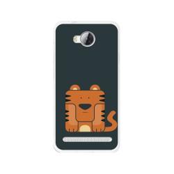 Funda Gel Tpu para Huawei Y3 II Diseño Tigre Dibujos