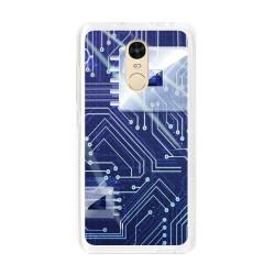 Funda Gel Tpu para Xiaomi Redmi Note 4 / Note 4 Pro Diseño Circuito Dibujos