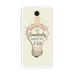 Funda Gel Tpu para Xiaomi Redmi Note 4 / Note 4 Pro Diseño Creativity Dibujos