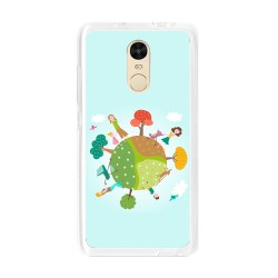 Funda Gel Tpu para Xiaomi Redmi Note 4 / Note 4 Pro Diseño Familia Dibujos
