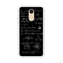 Funda Gel Tpu para Xiaomi Redmi Note 4 / Note 4 Pro Diseño Formulas Dibujos