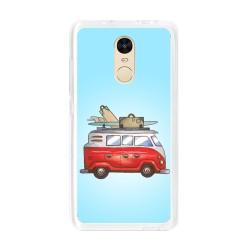 Funda Gel Tpu para Xiaomi Redmi Note 4 / Note 4 Pro Diseño Furgoneta Dibujos