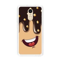 Funda Gel Tpu para Xiaomi Redmi Note 4 / Note 4 Pro Diseño Helado Chocolate Dibujos
