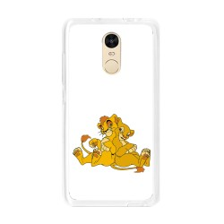 Funda Gel Tpu para Xiaomi Redmi Note 4 / Note 4 Pro Diseño Leones Dibujos