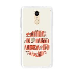 Funda Gel Tpu para Xiaomi Redmi Note 4 / Note 4 Pro Diseño Mundo-Libro Dibujos