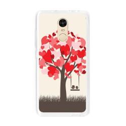 Funda Gel Tpu para Xiaomi Redmi Note 4 / Note 4 Pro Diseño Pajaritos Dibujos