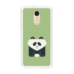 Funda Gel Tpu para Xiaomi Redmi Note 4 / Note 4 Pro Diseño Panda Dibujos