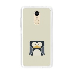 Funda Gel Tpu para Xiaomi Redmi Note 4 / Note 4 Pro Diseño Pingüino Dibujos