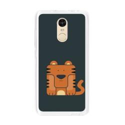 Funda Gel Tpu para Xiaomi Redmi Note 4 / Note 4 Pro Diseño Tigre Dibujos