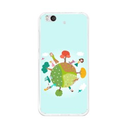 Funda Gel Tpu para Xiaomi Mi 5S Diseño Familia Dibujos