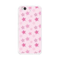 Funda Gel Tpu para Xiaomi Mi 5S Diseño Flores Dibujos