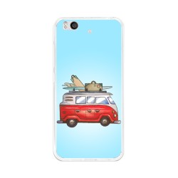 Funda Gel Tpu para Xiaomi Mi 5S Diseño Furgoneta Dibujos