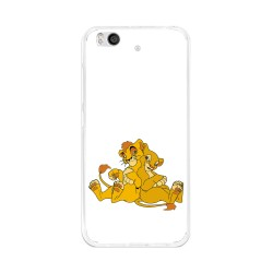 Funda Gel Tpu para Xiaomi Mi 5S Diseño Leones Dibujos
