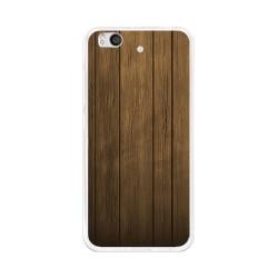 Funda Gel Tpu para Xiaomi Mi 5S Diseño Madera Dibujos