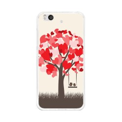 Funda Gel Tpu para Xiaomi Mi 5S Diseño Pajaritos Dibujos
