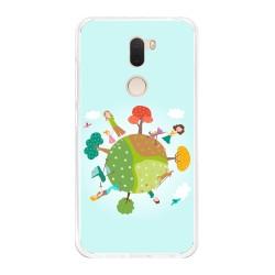 Funda Gel Tpu para Xiaomi Mi 5S Plus Diseño Familia Dibujos