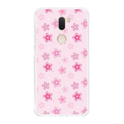 Funda Gel Tpu para Xiaomi Mi 5S Plus Diseño Flores Dibujos