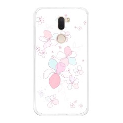 Funda Gel Tpu para Xiaomi Mi 5S Plus Diseño Flores-Minimal Dibujos