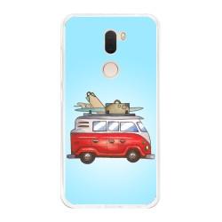 Funda Gel Tpu para Xiaomi Mi 5S Plus Diseño Furgoneta Dibujos