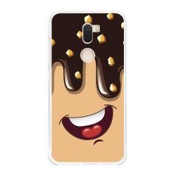 Funda Gel Tpu para Xiaomi Mi 5S Plus Diseño Helado Chocolate Dibujos