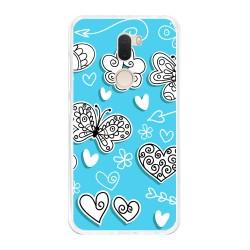 Funda Gel Tpu para Xiaomi Mi 5S Plus Diseño Mariposas Dibujos
