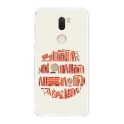 Funda Gel Tpu para Xiaomi Mi 5S Plus Diseño Mundo-Libro Dibujos