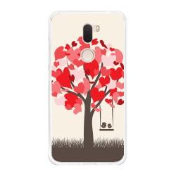 Funda Gel Tpu para Xiaomi Mi 5S Plus Diseño Pajaritos Dibujos