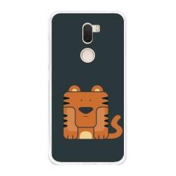 Funda Gel Tpu para Xiaomi Mi 5S Plus Diseño Tigre Dibujos