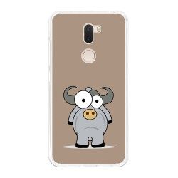 Funda Gel Tpu para Xiaomi Mi 5S Plus Diseño Toro Dibujos