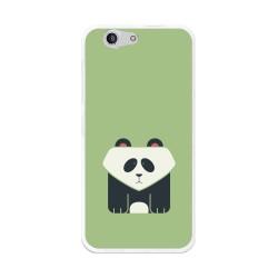 Funda Gel Tpu para Zte Blade A512 Diseño Panda Dibujos