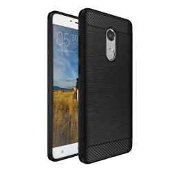 Funda Gel Tpu Tipo Carbon Negra para Xiaomi Redmi Note 4 / 4X / 4 Pro