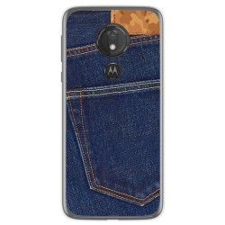 Funda Gel Tpu para Motorola Moto G7 Power diseño Vaquero Dibujos