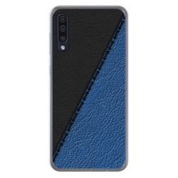 Funda Gel Tpu para Samsung Galaxy A50 / A50s / A30s diseño Cuero 02 Dibujos