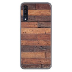 Funda Gel Tpu para Samsung Galaxy A50 diseño Madera 03 Dibujos